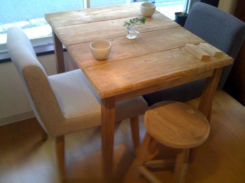 リノベーションで心豊かな北海道の暮らしを実現したい!-古材家具