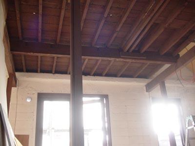 リノベーションで心豊かな北海道の暮らしを実現したい!-天井塗装後アフター
