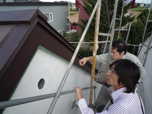 $リノベーションで心豊かな北海道の暮らしを実現したい!-屋根の葺替え2