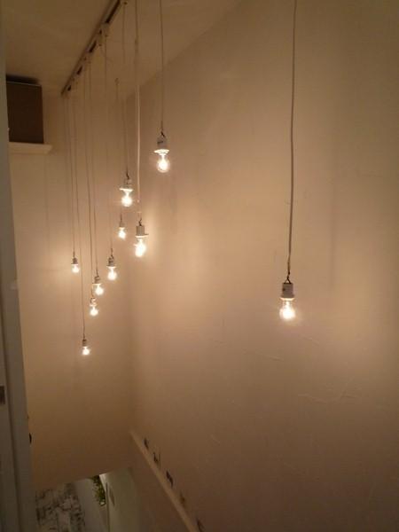 $リノベーションで心豊かな北海道の暮らしを実現したい!-CAFE BLANC [カフェ ブラン]照明