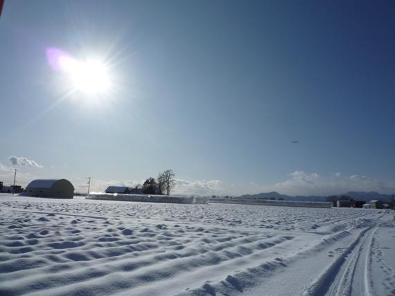 $リノベーションで北海道の豊かな暮らしを実現したい!-雪の上篠路