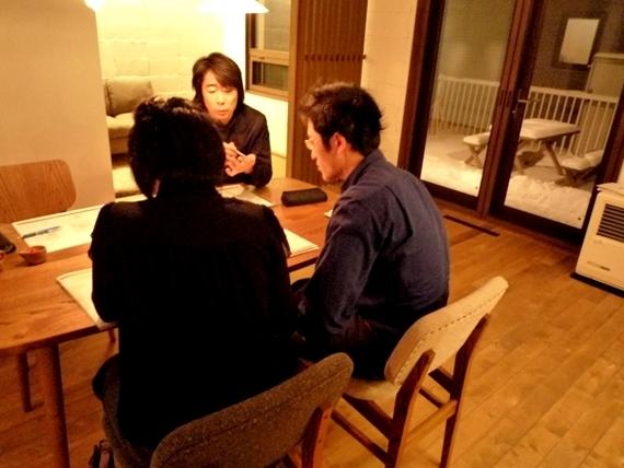 $リノベーションで北海道の豊かな暮らしを実現したい!-ラフプラン打合せ