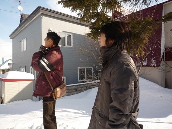 $リノベーションで北海道の豊かな暮らし-北海道工業大学の視察