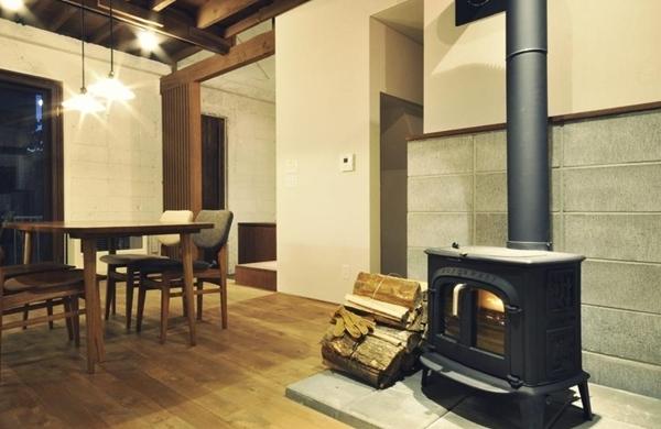 $リノベーションで北海道の豊かな暮らしを実現したい!-スロウルの家、薪ストーブ