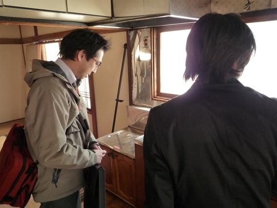 $リノベーションで北海道の豊かな暮らし-リノベーション現地確認