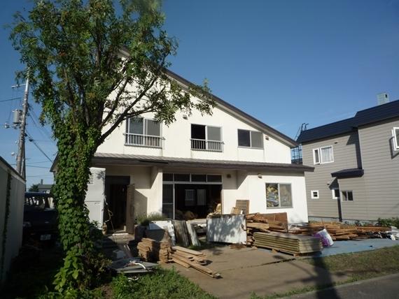 リノベーションで北海道の豊かな暮らし-江別リノベーション住宅、解体工事