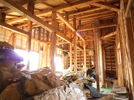 $リノベーションで北海道の豊かな暮らし-江別リノベーション住宅、解体工事