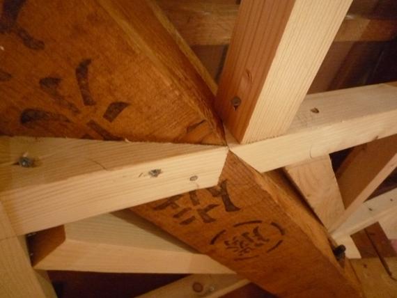 リノベーションで北海道の豊かな暮らし-江別リノベーション住宅、天井の断熱