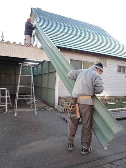 リノベーションで北海道の豊かな暮らし-札幌リノベーション住宅、篠路解体