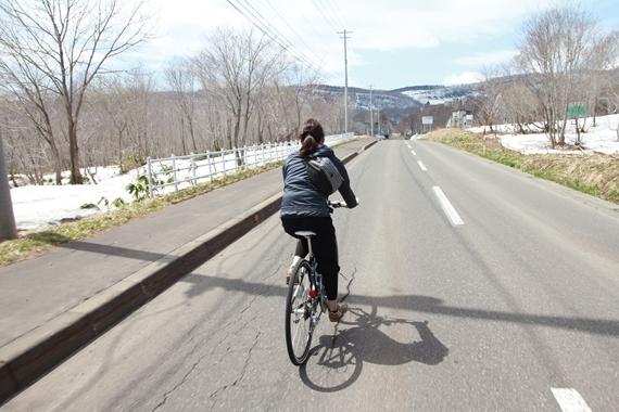 $リノベーションで北海道の豊かな暮らし-ニセコ、サイクリング