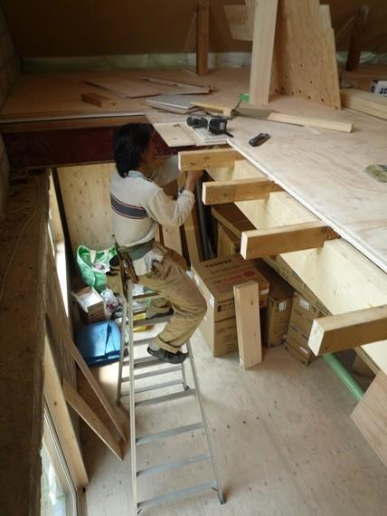 リノベーションで北海道の豊かな暮らし-札幌ブロック造リノベーション、建具