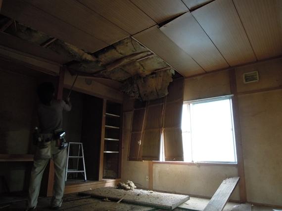 リノベーションで北海道の豊かな暮らし-札幌リノベーション解体現場、構造の腐食